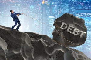 Man-Pulling-Debt-Boulder-Rock